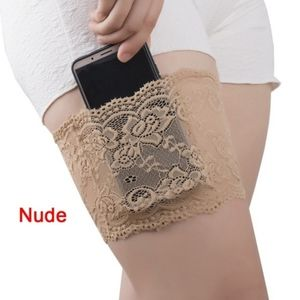 Other - Lace Floral Elastic Thigh Band WITH CELL POCKET